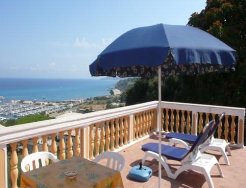 Villa Alf – Ferienwohnung mit tollem Meerblick in Tropea