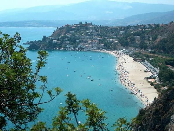 Strand Kalabrien