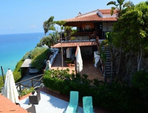 Villa Monaci – In fantastischer Lage am Meer nahe Tropea