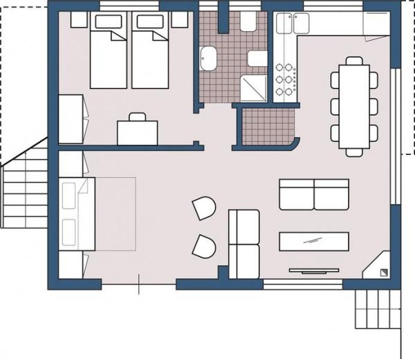 87 grundriss wohnzimmer mit kamin zergliedert und - Grundriss wohnzimmer ...
