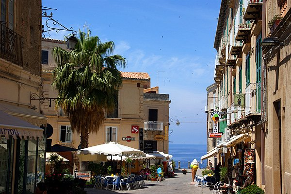tropea old town