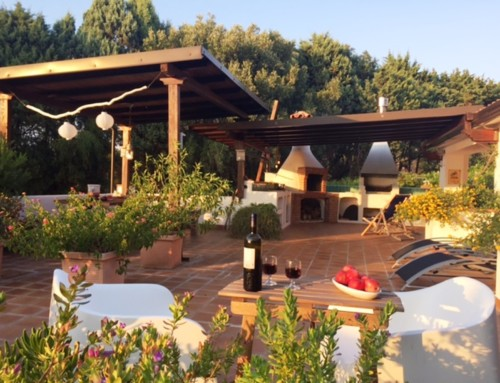 Casa Maud- Ferienhaus am Capo Vaticano mit herrlichem Meerblick