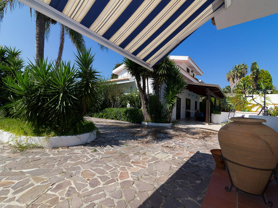 Villa Cora – Exklusive Ferienanlage am Capo Vaticano in Kalabrien - Aussenbereich