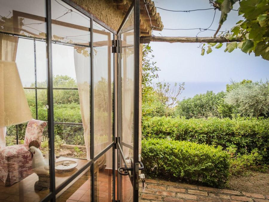Casa Angiolone – Individuelles Ferienhaus mit Meerblick am Capo Vaticano - Meerblick