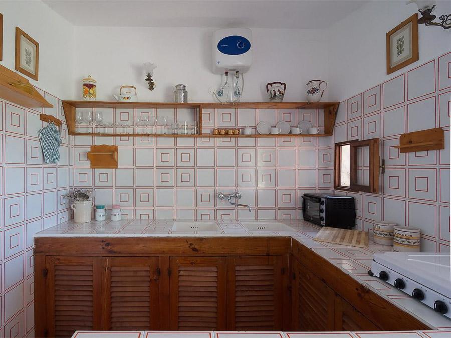 Casa Angiolone – Individuelles Ferienhaus mit Meerblick am Capo Vaticano - Küche