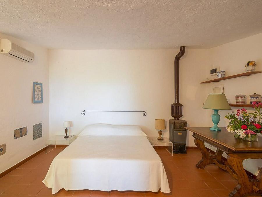 Casa Angiolone – Individuelles Ferienhaus mit Meerblick am Capo Vaticano - Schlafzimmer