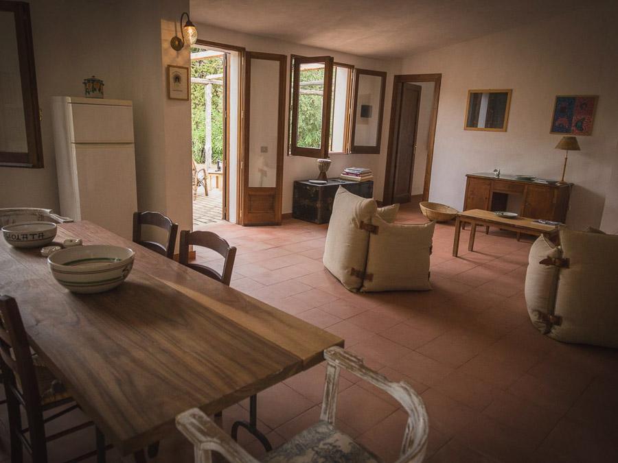 Casa Antonia – Ferienhaus auf herrlichem Terrain am Capo Vaticano - Wohnraum