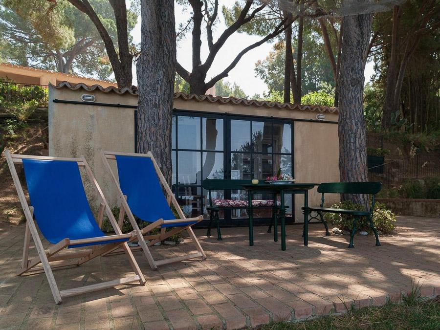 Casa Boccia – Ferienhaus mit idyllischer Lage und traumhaftem Meerblick am Capo Vaticano, Kalabrien, Italien - Aussenbereich