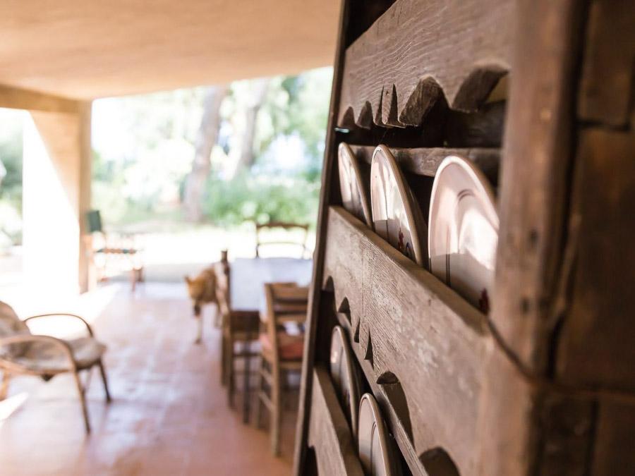 Strandnahes Ferienhaus in der Natur am Capo Vaticano - Innenbereich