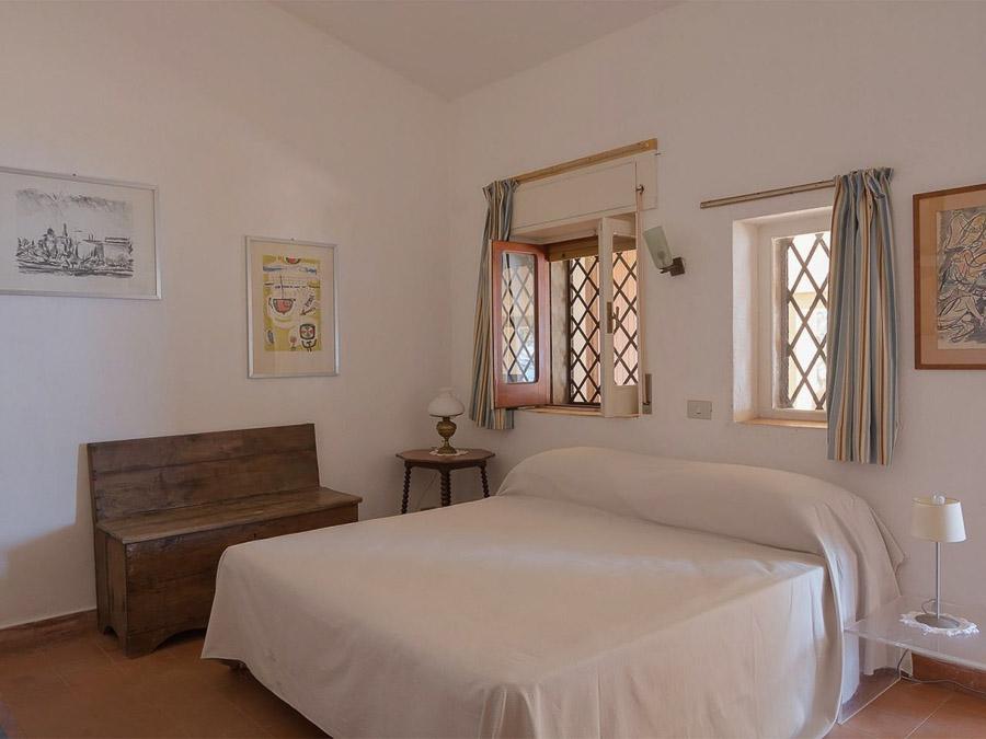 Strandnahes Ferienhaus in der Natur am Capo Vaticano - Schlafzimmer