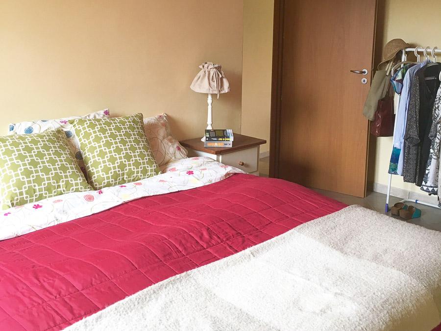 Komfortable Ferienhäuser mit Pool am Capo Vaticano - Dopplezimmer