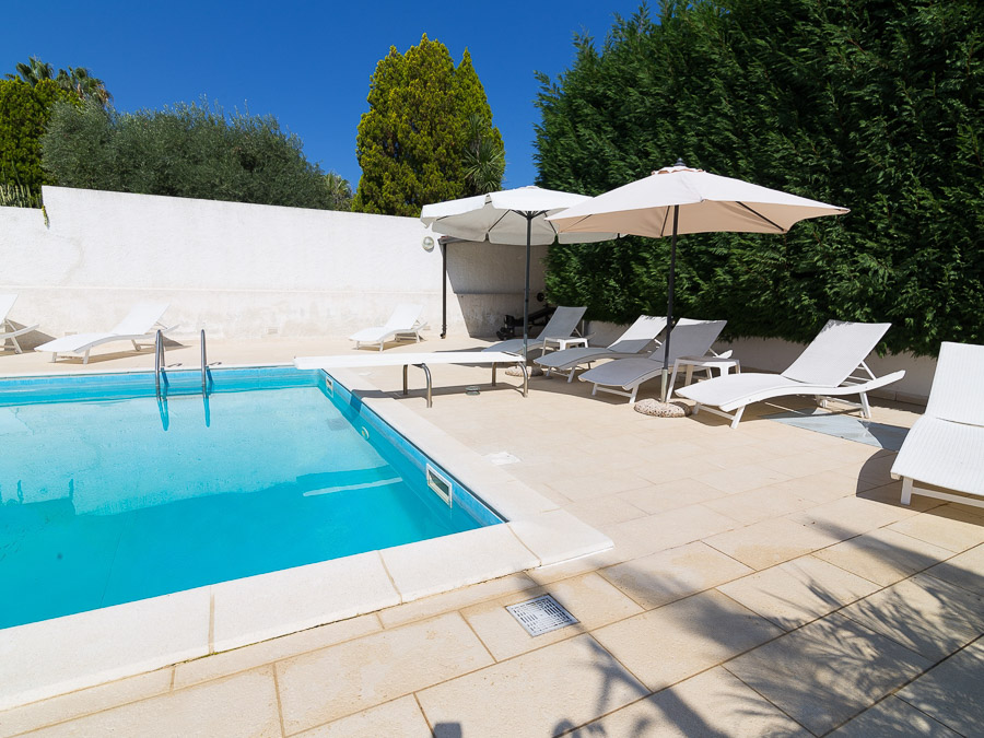 Casa Melograno – Moderne Ferienwohnung mit Pool am Capo Vaticano in Kalabrien, Süditalien - Pool