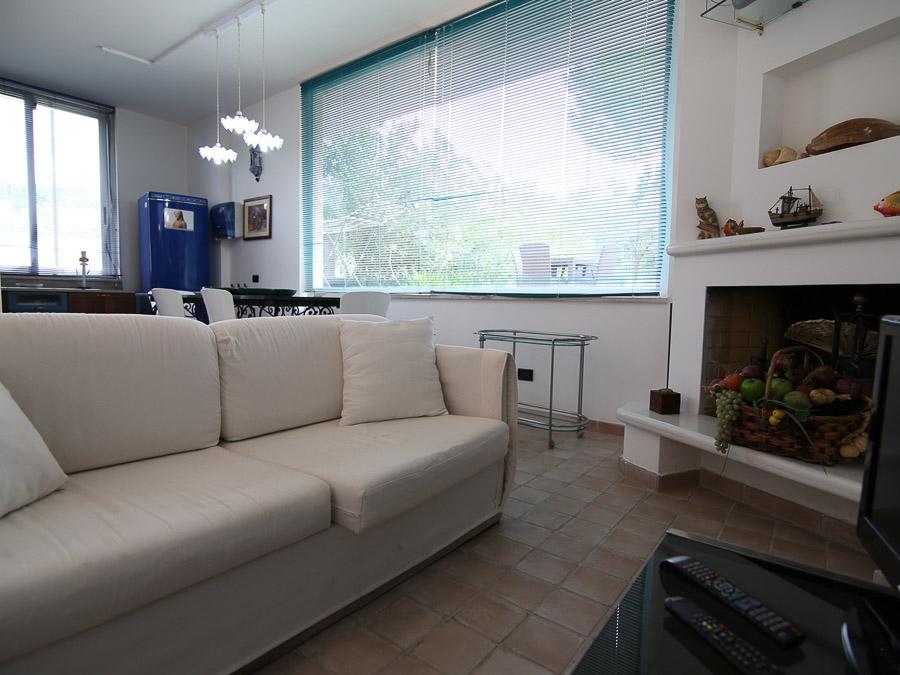 Casa Ninfea – Hübsche Ferienwohnung in Süditalien - Wohnraum