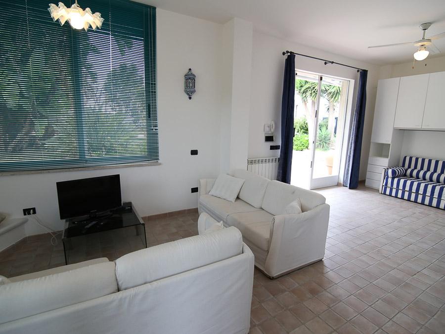 Casa Ninfea – Hübsche Ferienwohnung in Süditalien - Wohnzimmer