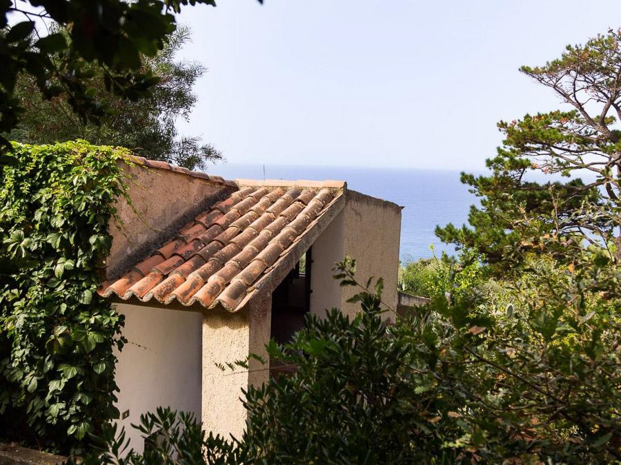 Casa Portico – Reizendes Ferienhaus mit großer Veranda am Capo Vaticano in Kalabrien, Italien - aussen