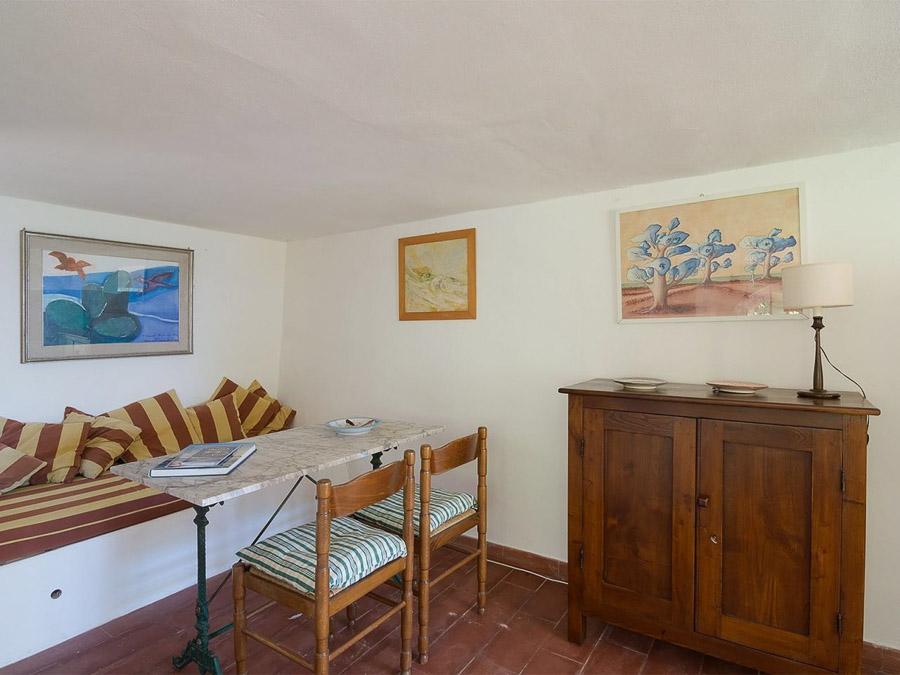 Casa Portico – Reizendes Ferienhaus mit großer Veranda am Capo Vaticano in Kalabrien, Italien - Wohnbereich