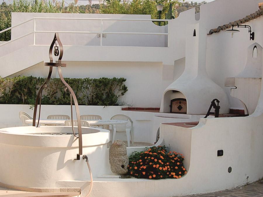 Casa Spiga – Komfortable Ferienwohnung in Kalabrien - Grillbereich