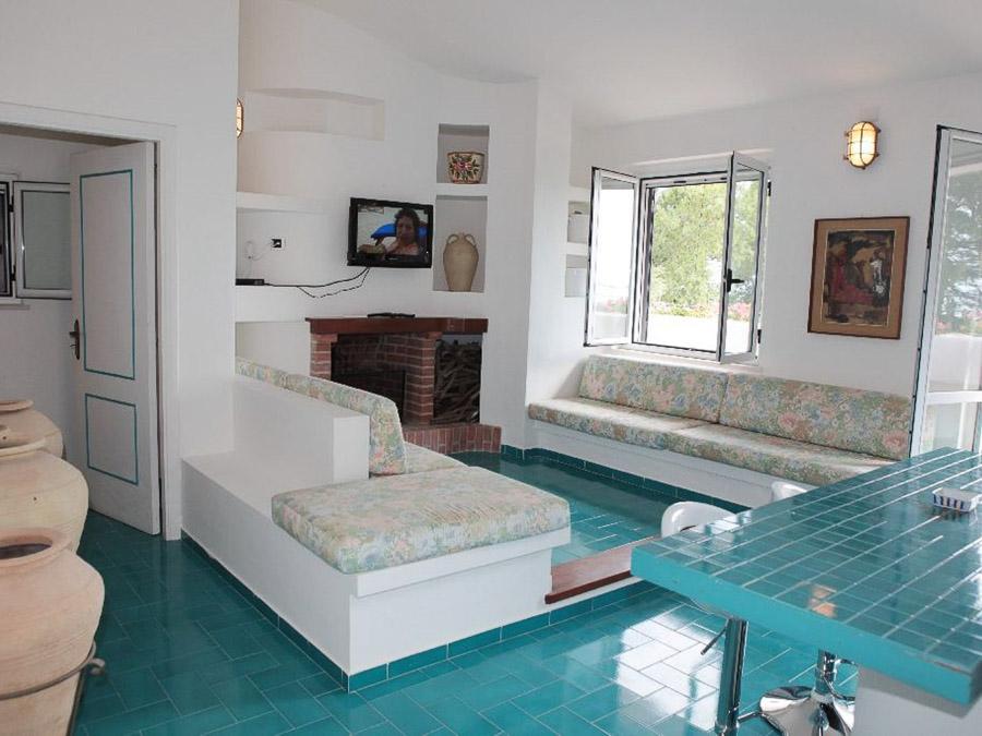 Casa Spiga – Komfortable Ferienwohnung in Kalabrien - Wohnraum