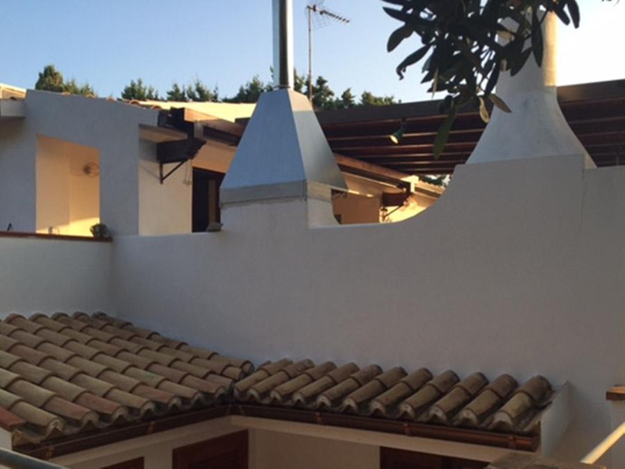 Casa Theo- Ferienhaus am Capo Vaticano mit herrlichem Meerblick - Aussenansicht