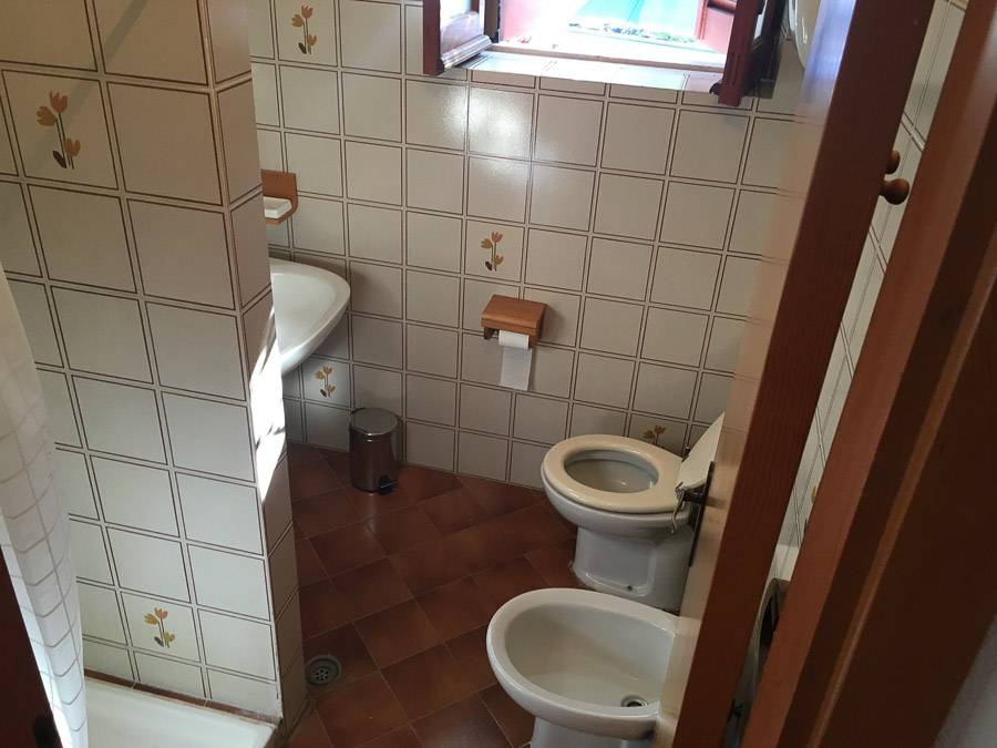 Casa Theo- Ferienhaus am Capo Vaticano mit herrlichem Meerblick - Bad
