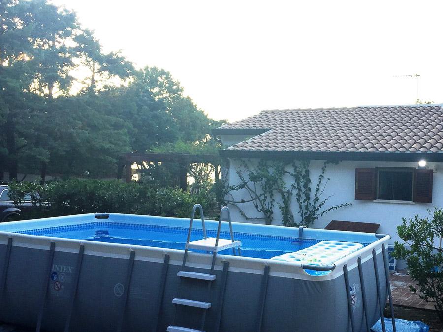 Casa Theo- Ferienhaus am Capo Vaticano mit herrlichem Meerblick - Pool