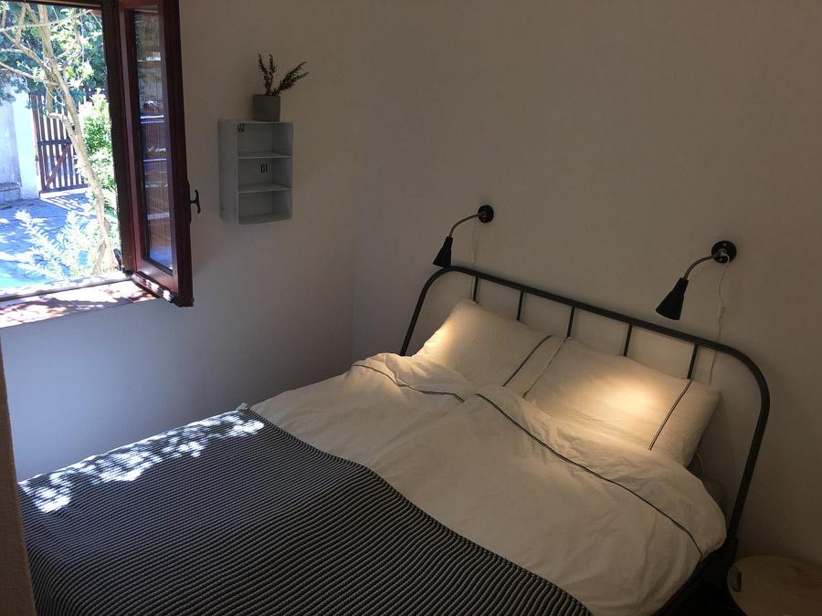 Casa Theo- Ferienhaus am Capo Vaticano mit herrlichem Meerblick - Schlafzimmer