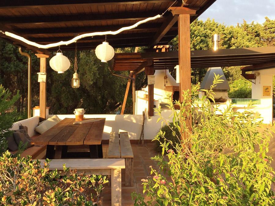 Casa Theo- Ferienhaus am Capo Vaticano mit herrlichem Meerblick - Terrasse
