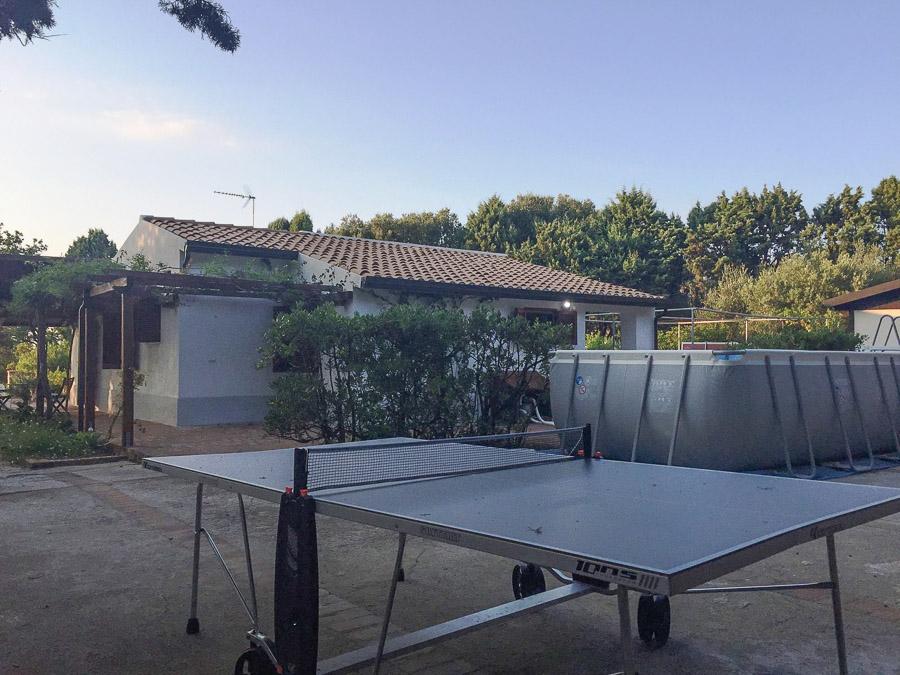 Casa Theo- Ferienhaus am Capo Vaticano mit herrlichem Meerblick - Tischtennis