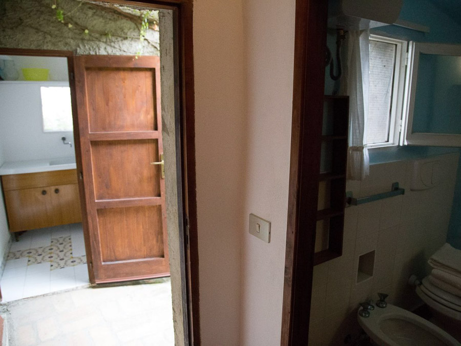 Ferienhaus in Kalabrien am Capo Vaticano - il Night - Innenräume