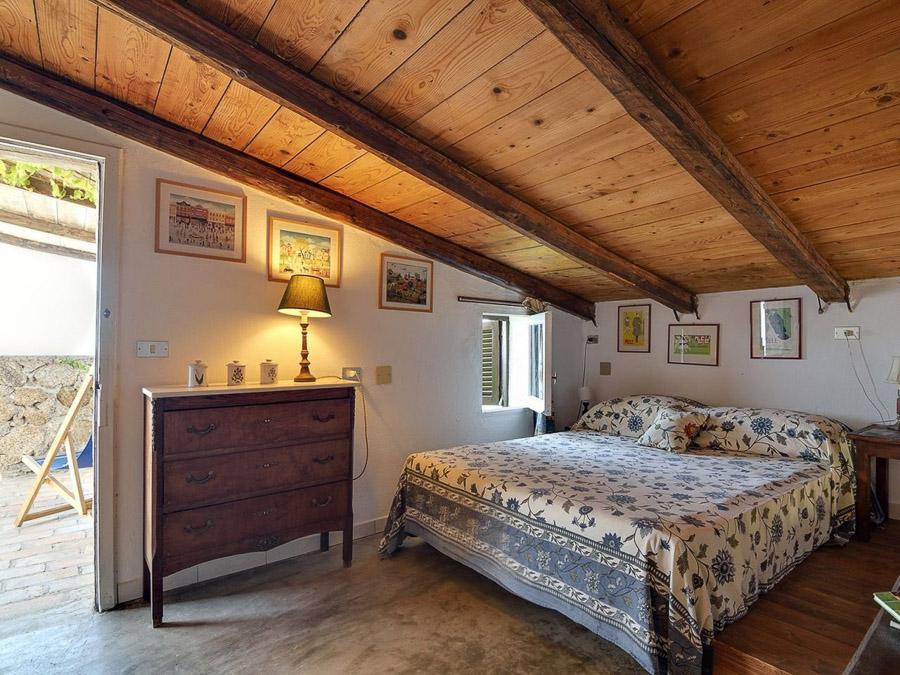 Ferienhaus in Kalabrien am Capo Vaticano - il Night - Schlafzimmer