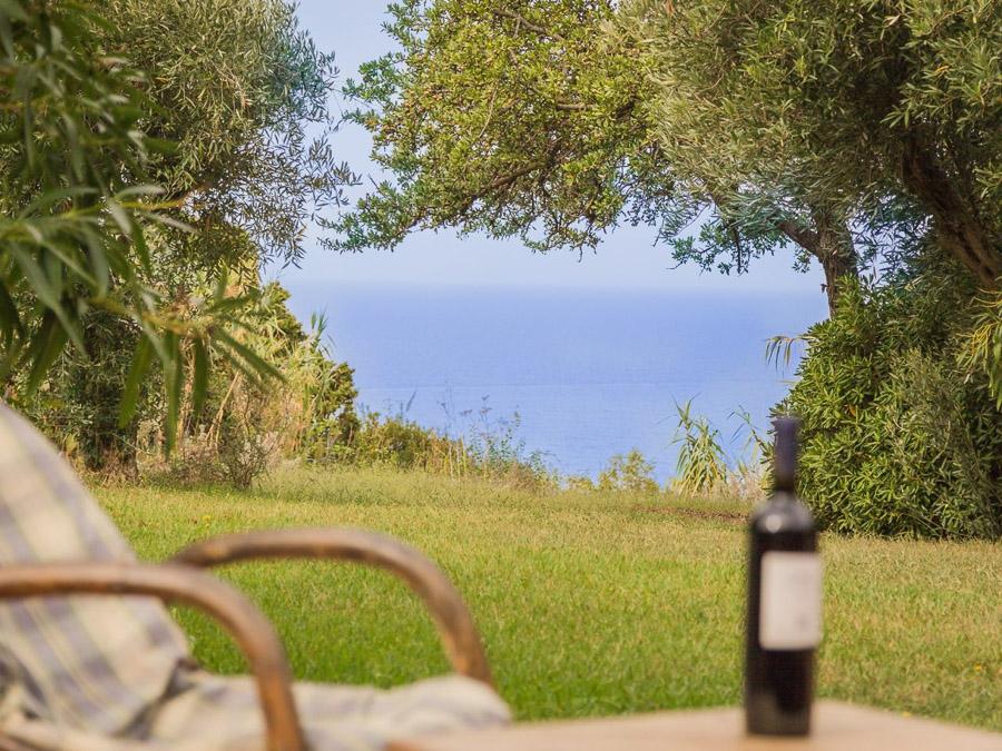 Casa Antonia – Ferienhaus auf herrlichem Terrain am Capo Vaticano - Meerblick