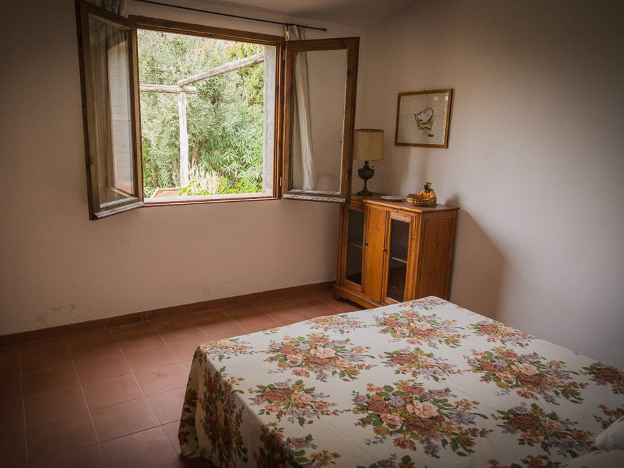 Casa Antonia – Ferienhaus auf herrlichem Terrain am Capo Vaticano - Schlafraum