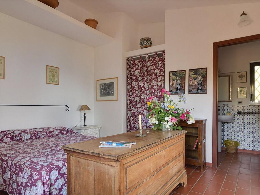 Casa Boccia – Ferienhaus mit idyllischer Lage und traumhaftem Meerblick am Capo Vaticano, Kalabrien, Italien - Schlafzimmer