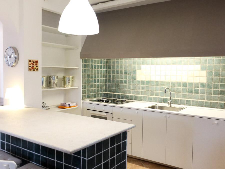 Villa Anna am Capo Vaticano Kalabrien - eine Ferienvilla - Küche