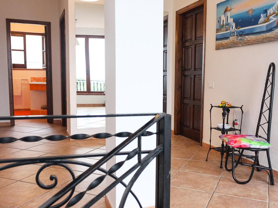 Villa Anna am Capo Vaticano Kalabrien - eine Ferienvilla - Obergeschoss