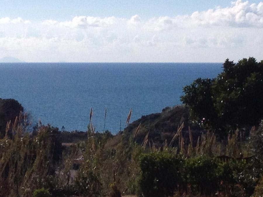 Villetta Manuela – Meerblick, strandnah und mit Pool Capo Vatiano - Ausblick