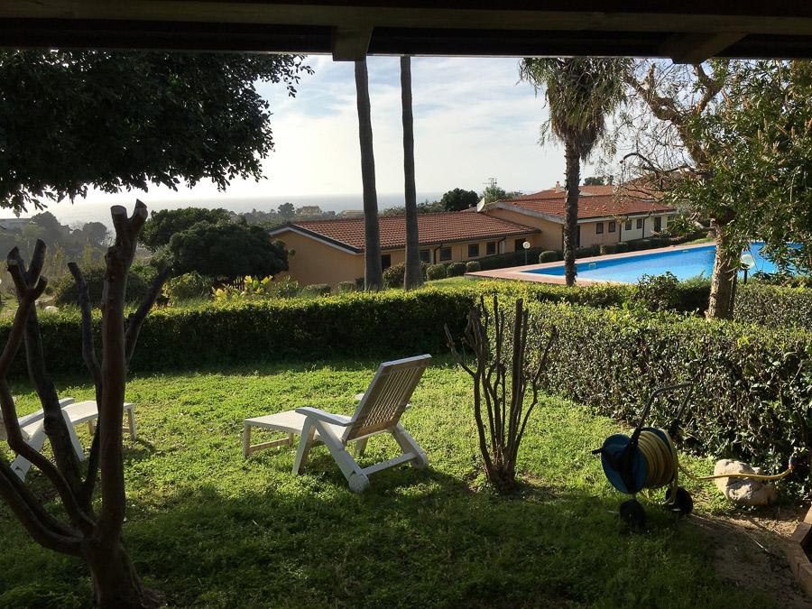 Villetta Manuela – Meerblick, strandnah und mit Pool Capo Vatiano - Poolblick
