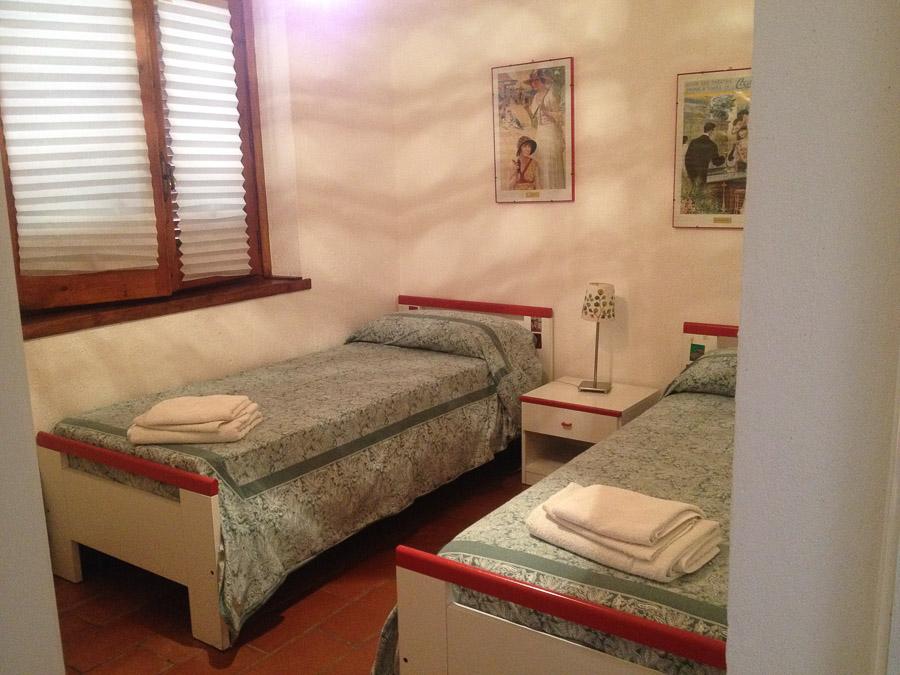 Villetta Manuela – Meerblick, strandnah und mit Pool Capo Vatiano - Schlafzimmer