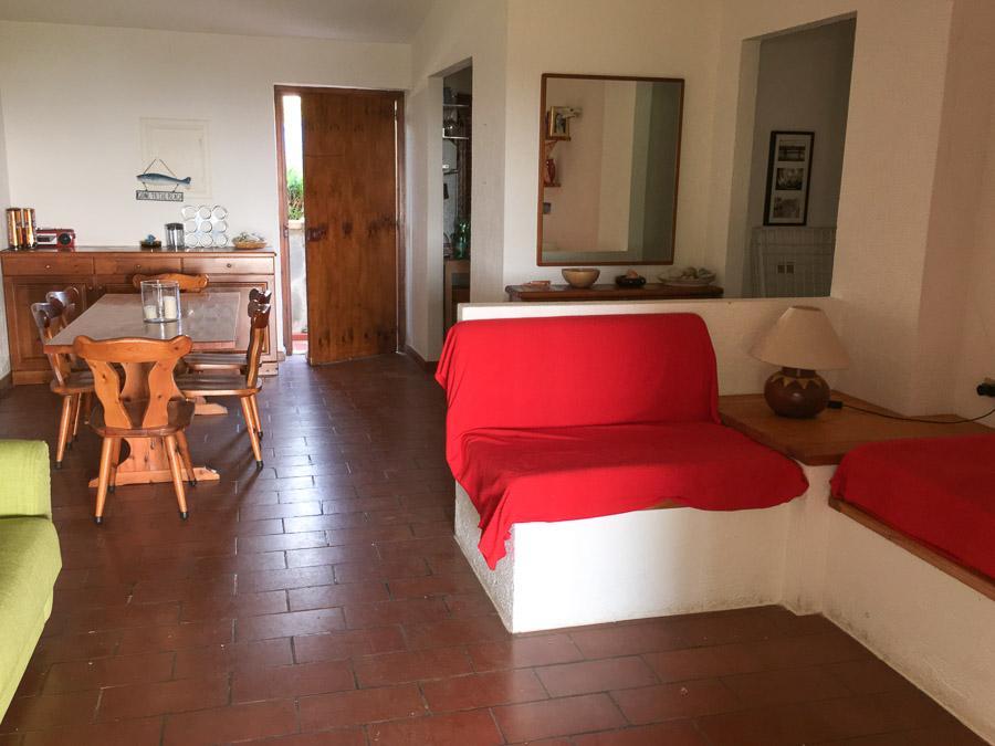 Villetta Manuela – Meerblick, strandnah und mit Pool Capo Vatiano - Wohnraum