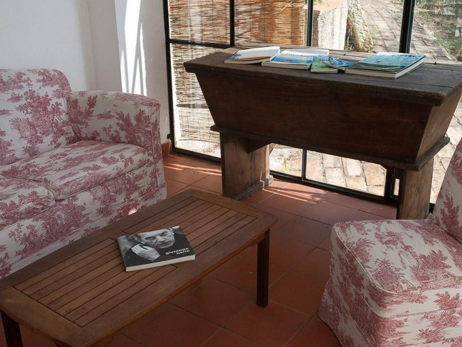 Casa Angiolone – Individuelles Ferienhaus mit Meerblick am Capo Vaticano - Wohnbereich