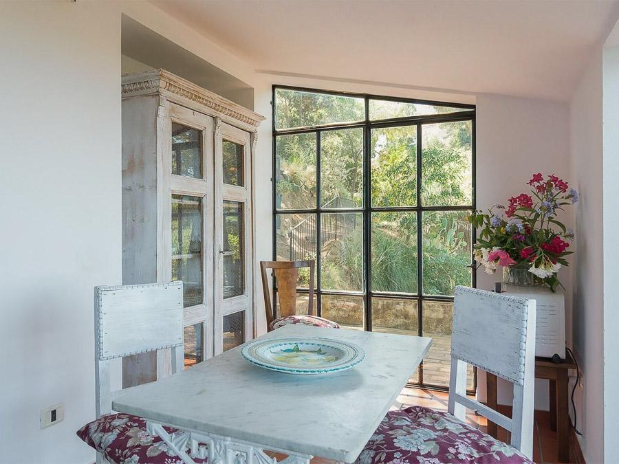 Casa Boccia – Ferienhaus mit idyllischer Lage und traumhaftem Meerblick am Capo Vaticano, Kalabrien, Italien - Wohnbereich