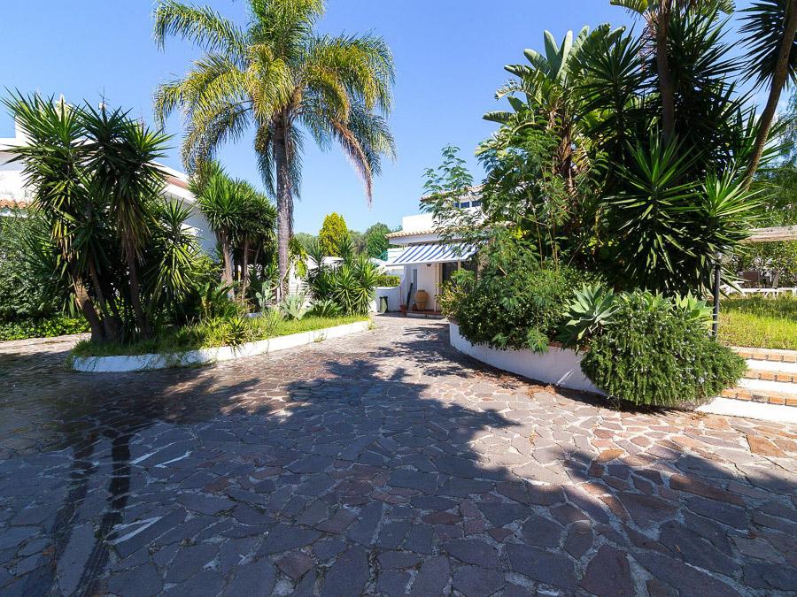 Villa Cora – Exklusive Ferienanlage am Capo Vaticano in Kalabrien - Aussen