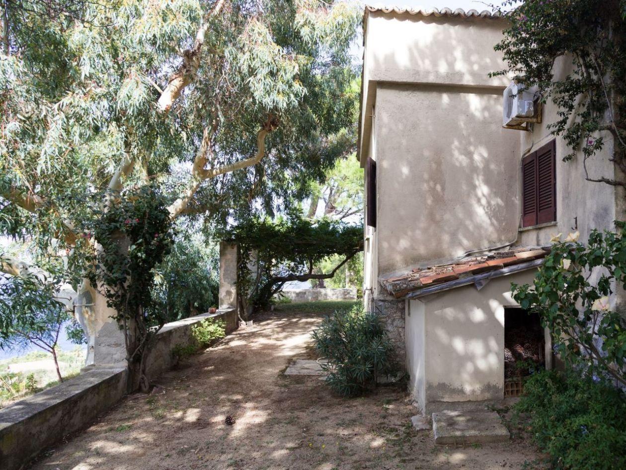 Außenbereich Ferienhaus Casa Cucinone