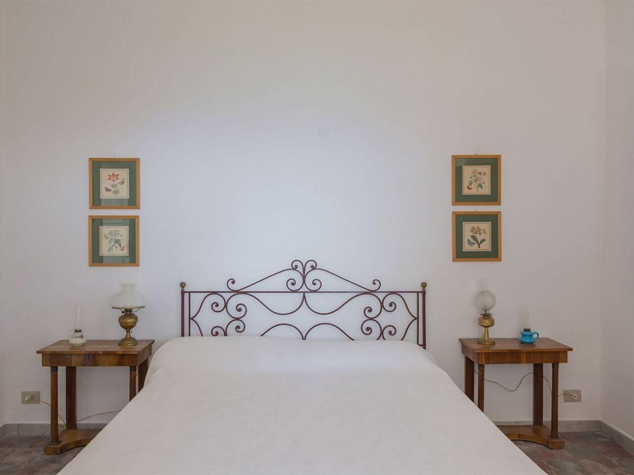 Schlafraumm Ferienhaus Casa Cucinone in Kalabrien