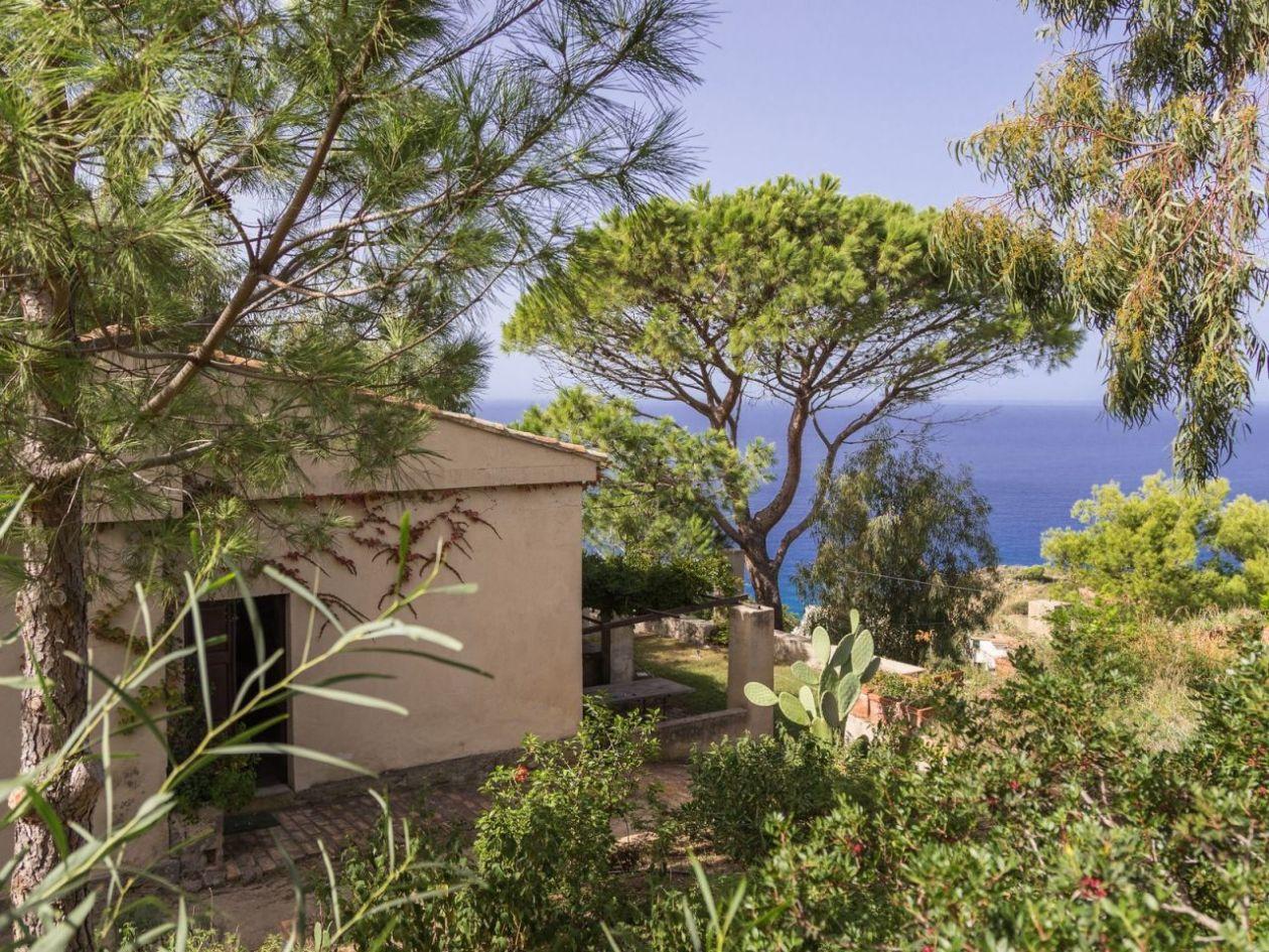 Garten Ferienhaus Casa Cucinone in Kalabrien