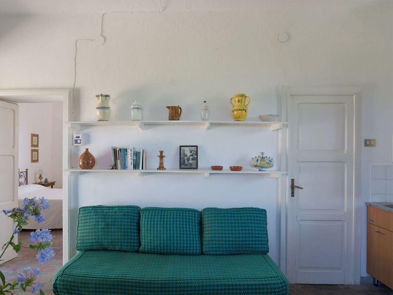 Schlafsofa Ferienhaus Casa Cucinone in Kalabrien