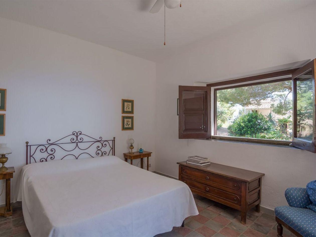 Schlafraum Ferienhaus Casa Cucinone in Kalabrien