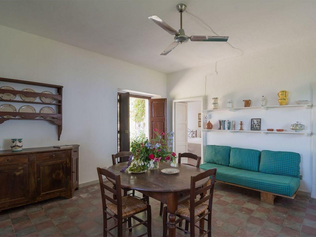 Wohnraum Ferienhaus Casa Cucinone