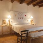 Schlafzimmer im Casa Centro in Strongoli, Kalabrien