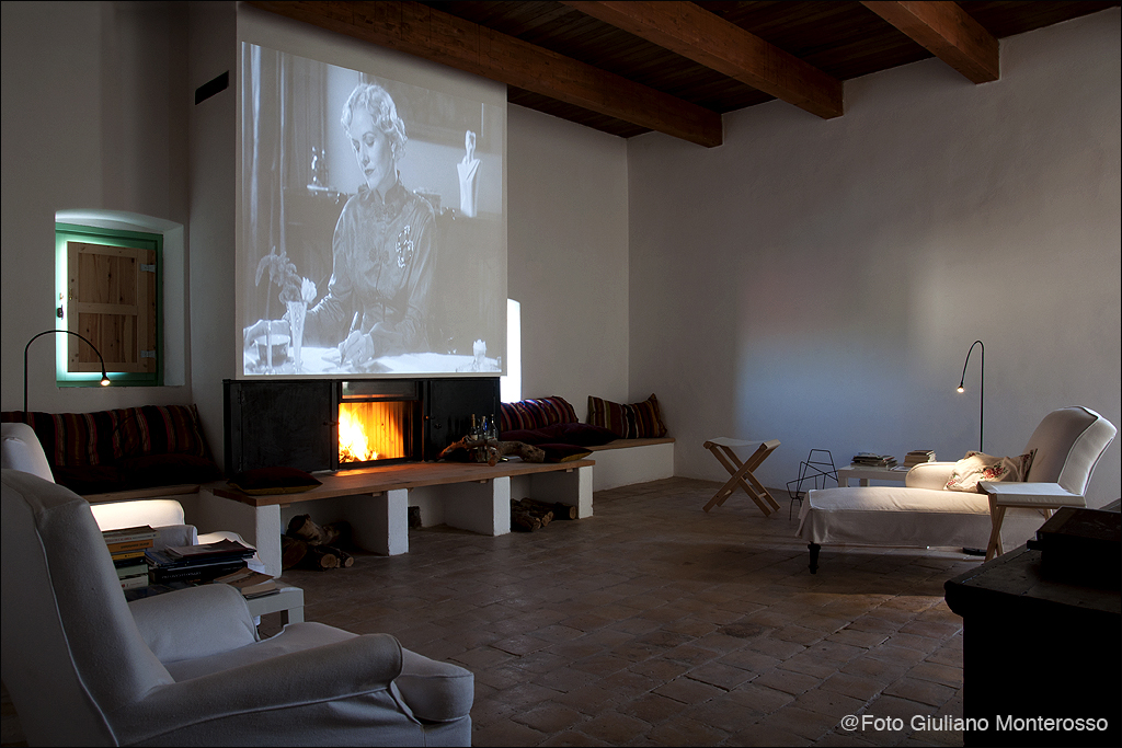 Wohnraum im Casa Centro in Strongoli, Kalabrien